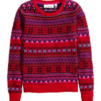 H&M Jacquard-knit Sweater $34.95