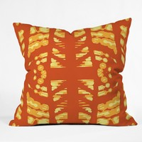 Rosie Brown Pumpkin Latte Throw Pillow
