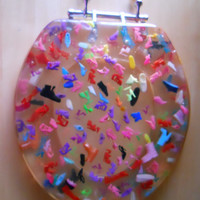 Barbie Shoes Toilet Seat Handmade