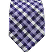Prepster Plaid - Violet/Lavender (Skinny)   Ties, Bow Ties, and Pocket Squares   The Tie Bar