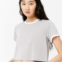 Cropped Ringer Tee