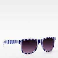 CABANA STRIPED SUNGLASSES