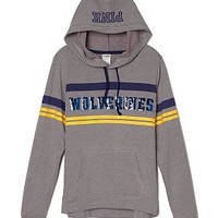 University of Michigan Pullover Hoodie - PINK - Victoria's Secret