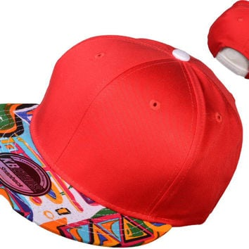 Red Fresh Prince Snapback