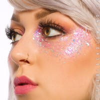 Face Glitter in Pink Pegasus