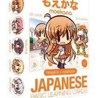 Good Smile Moekana: Japanese Kanji Learning Cards (Second Edition)