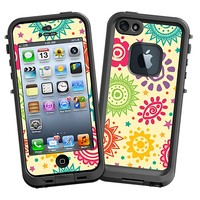 Tribal Sun Pattern Skin  for the iPhone 5 Lifeproof Case by skinzy.com