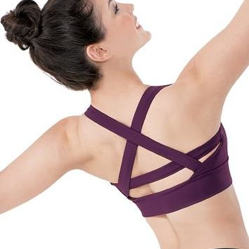 Criss Cross Strappy Back Bra Top | Balera™