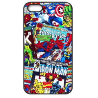 Marvel Comics Avengers Comics Hard Case for Apple iPhone 4