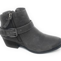 DCCKAB3 Not Rated Tessa Grey Heeled Ankle Booties