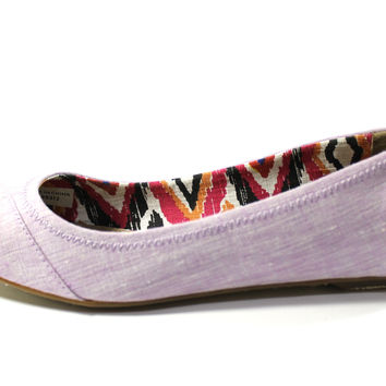 Toms Women's Ballet Flat Lilac Natalia Purple Casual Shoes