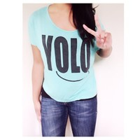 🎀Doll deal🎀 Yolo loose tee