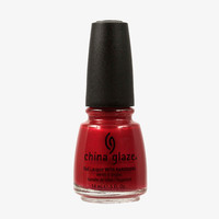 China Glaze Go Crazy Red Nail Polish (Core Collection)