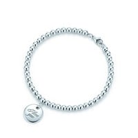 "Tiffany & Co. - Tiffany Notes®:""I Love You"" Disc Charmand Bracelet"