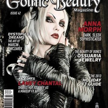 Gothic Beauty Magazine Issue 42 Music interviews with The Mission, Covenant and Miss FD
