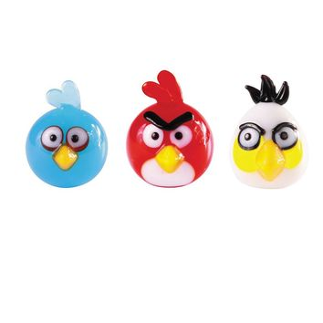 Glass World 3-pk. Angry Birds Mini Figurines (Blue/White/Red)
