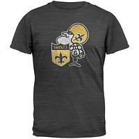 New Orleans Saints - Logo Scrum Premium T-Shirt