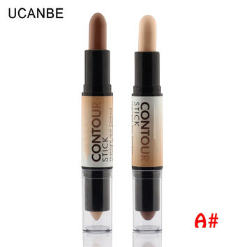 Brand Corrector Creamy 2 Colors Face Concealer Highlight Contour Stick Makeup Waterproof Contouring Highlight Concealing Blemish