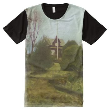 House on a small hill All-Over-Print shirt
