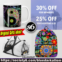 BluedarkArt • 30% off For #Members! 25% off for everyone else!...