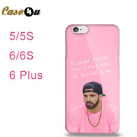 Poor Drake Hotline Bling Hard Cover Case for iPhone 5, 5s 6 6s Plus FREE SHIPPING