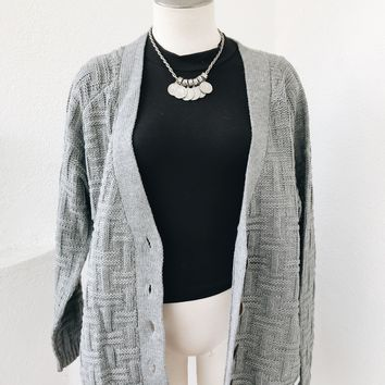 SEREEN CARDIGAN- GREY