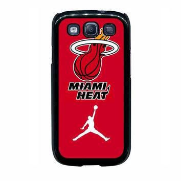 miami heat with nike jordan samsung galaxy s3 s4 s5 s6 edge cases