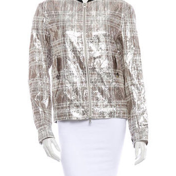 Dries Van Noten Silk Jacket