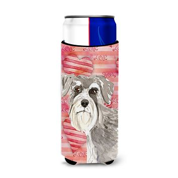 Love a Schnauzer #1 Michelob Ultra Hugger for slim cans CK1755MUK