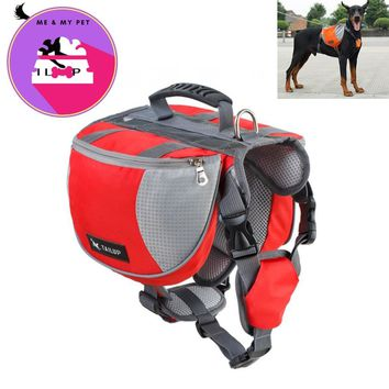 [TAILUP] Dog Harness K9 for Large Dogs Harness Pet Vest Outdoor Puppy Small Dog Leads Accessories Carrier Backpack py0025