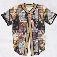 Best of Tupac Baseball Jersey