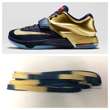 Laced Loudly KD 7 Gold Medal Laces