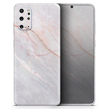 Slate Marble Surface V14 - Skin-Kit for the Samsung Galaxy S-Series S20, S20 Plus, S20 Ultra , S10 & others (All Galaxy Devices Available)