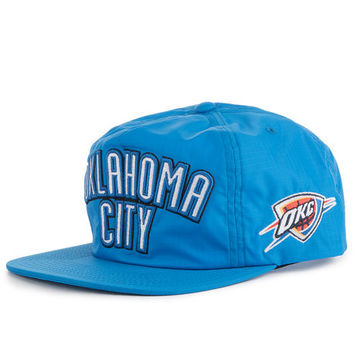 The Oklahoma City Thunder Tram Stripe Zipback Hat