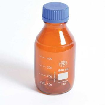 Media / Storage Bottles, Amber, Borosilicate Glass