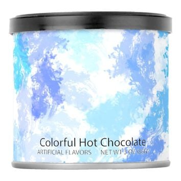 Blue Hot Chocolate Mix