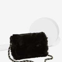 Estrella Faux Fur Crossbody Bag