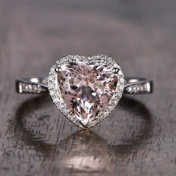 Best Heart Shaped Diamond Engagement Ring Products on Wanelo