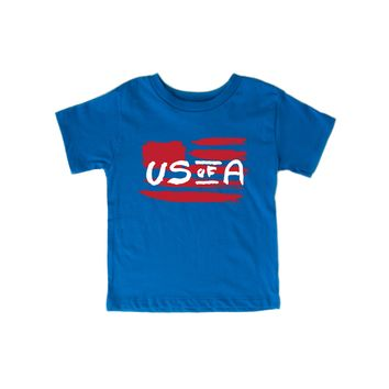 US of A Kid Tee