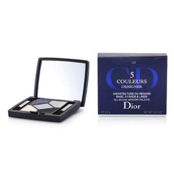 Christian Dior 5 Color Designer All In One Artistry Palette - No. 208 Navy Design Make Up