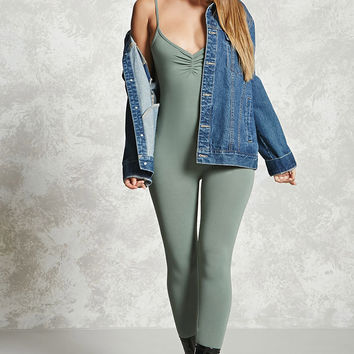 Stretch-Knit Cami Jumpsuit