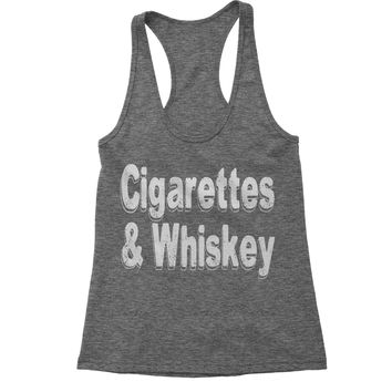 Cigarettes And Whiskey Racerback Tank Top for Women