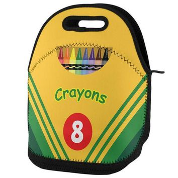 PEAPGQ9 Crayon Box Lunch Tote Bag