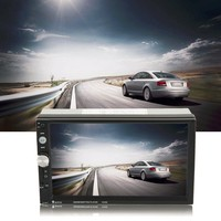 New 2 Din Car Radio MP5 Player 7inch HD Touch Screen With Digital Phone Stereo Radio FM MP3 MP4 Audio Video USB Auto In Dash
