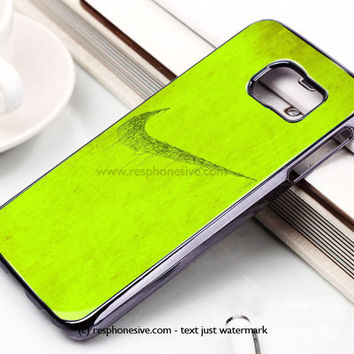 Green Nike Logo Samsung Galaxy S6 and S6 Edge Case