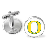 March Madness cuff links, Oregon Ducks, University of Oregon, college sports accessories, groomsmen gifts, championship basketball cufflinks