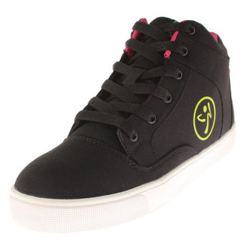 Zumba Womens Street Fresh High Top Contrast Trim Dance Shoes