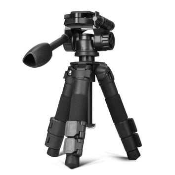 0.93kg  lightweight camera mini tripod Q166S safety table mini tripod with phone holder for Xiaomi rotary panoramic head