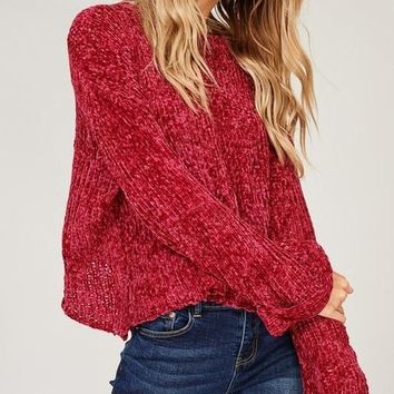 Rudolph Chenille Knit Sweater - FINAL SALE