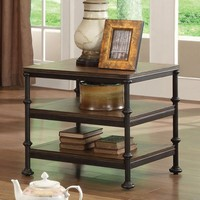 Riverside Camden Town Rectangular End Table - Hampton Road Ash | www.hayneedle.com